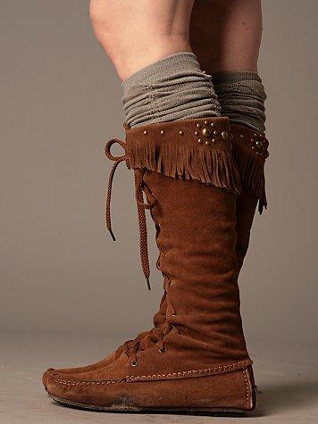 Tall Desert Moccasin Boot