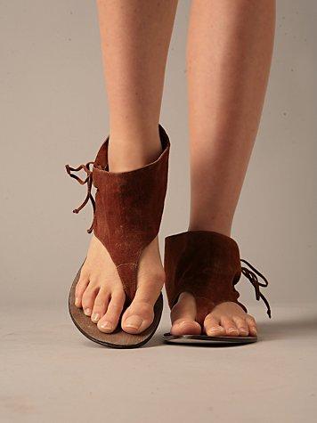 Aries Bootie Sandal