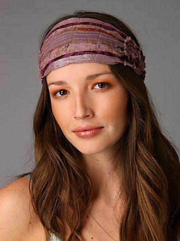 Macrame Knotted Headband