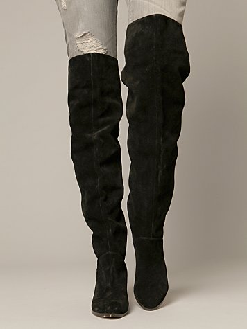 Nathan Over The Knee Slouch Boot