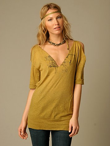 We The Free Double V Tunic Tee