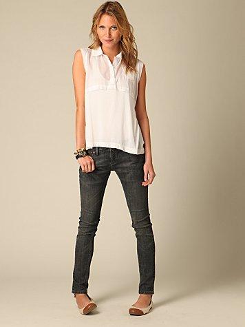FP Violet Wash Super Skinny Jeans